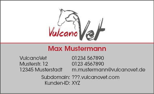 VulcanoVet Visitenkarten